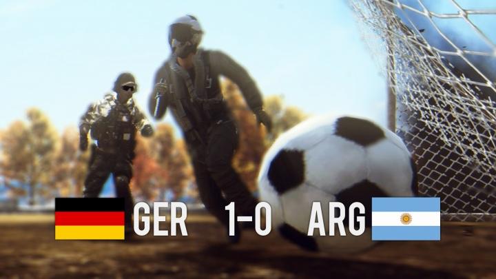 Battlefield 4 : BFでサッカーが遊べる!?「FIFA ワールドカップ2014」のイースターエッグ発見