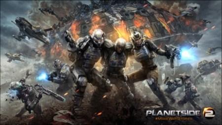 2000人対戦の無料FPS『Planetside 2』、PS4版のゲームプレイ公開
