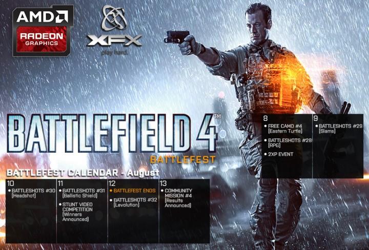 "Battlefield 4:""Battleshot""最終週のお題公開。明日には無料迷彩の配布や経験値2倍も"