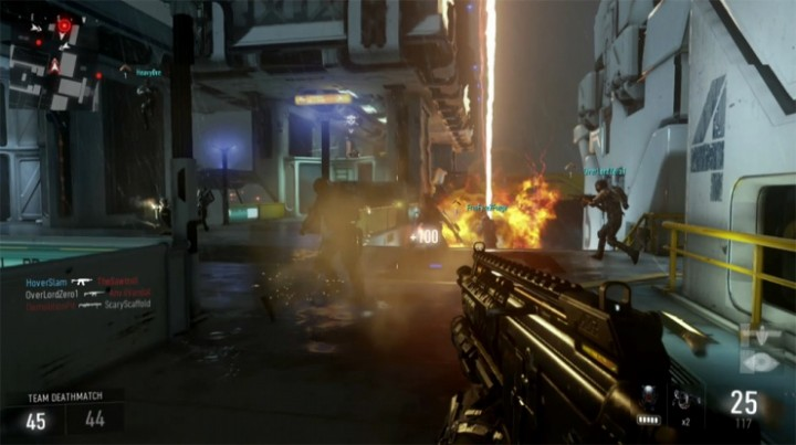 CoD:AW:マルチプレイヤーゲームプレイ動画公開!新モードを含む4マップ×4モード