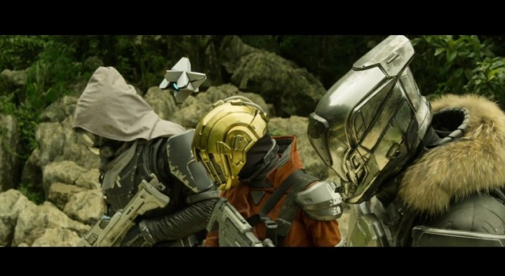Destiny:映画のような公式実写トレイラー「Become Legend 」