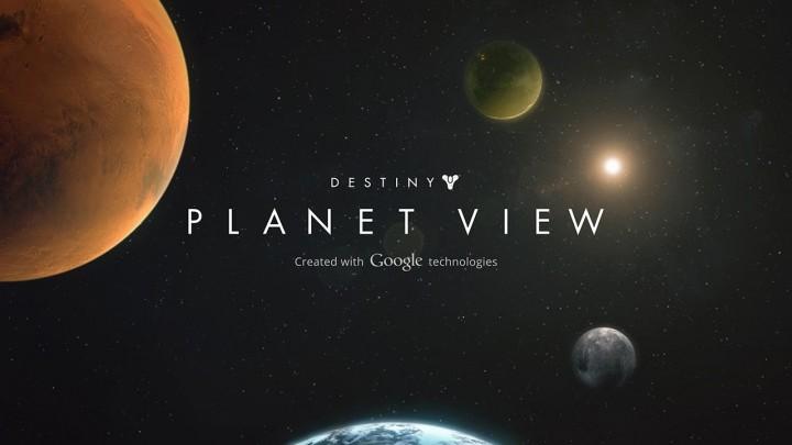 """Destiny:""""Planet View""""に埋め込まれた限定公式動画10本。激しい戦闘や美しい風景など"""