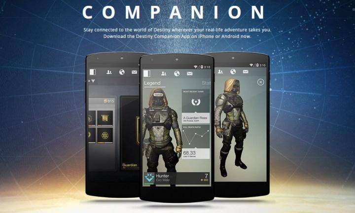 Destiny:無料コンパニオンアプリが3.1にバージョンアップ
