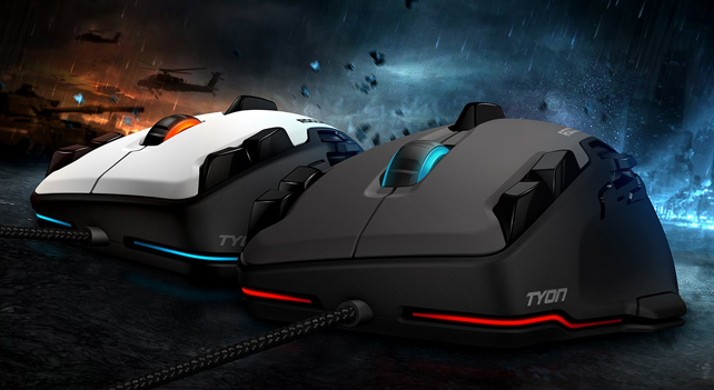 レビュアー無料プレゼント:FPSゲームのあらゆる領域を制覇するゲーミングマウス「ROCCAT Tyon」
