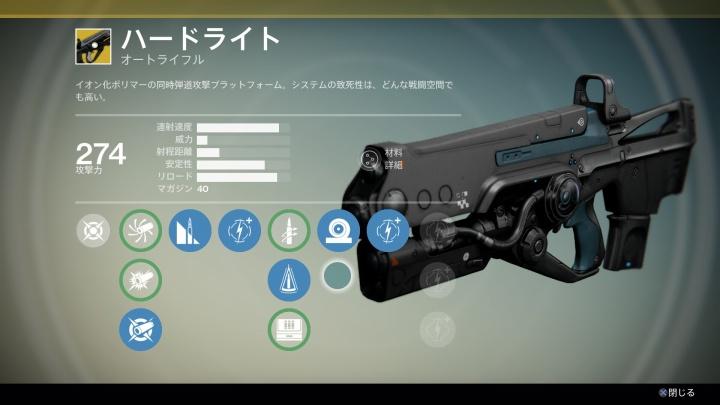 『Destiny(デスティニー)』ハードライト