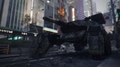 """Not on my Watch \\ """"Induction.""""で歩行戦車がドローンの群れに破壊されるのを妨害する"""