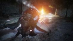 """Wheelman \\ """"Aftermath""""のホバーバイクのシークエンスを、一度も壁や障害物にぶつかってダメージを受けずにクリアする."""
