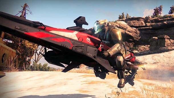 Destiny:アーマーやスパローを好きな色に設定可能に?新たな船なども発掘