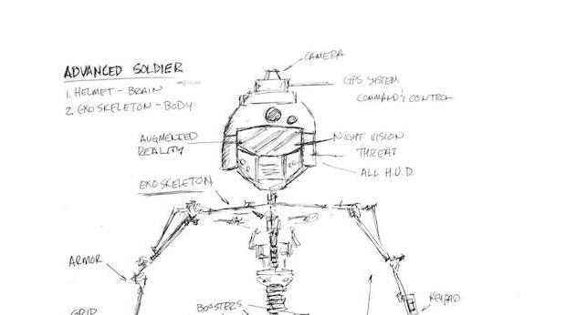 CoD:AW:2011年に描かれた兵士のコンセプト・アート公開