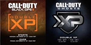 『Call of Duty: Ghosts(コールオブデューティー:ゴースト)』&『Call of Duty:Black Ops 2(コールオブデューティー ブラックオプス 2)』ダブルXP