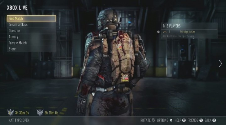 CoD:AW:フリーズ問題の簡単な解決方法(PS3/X360)