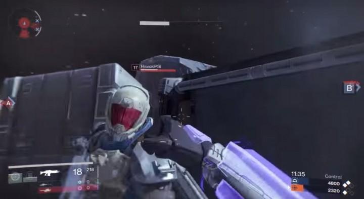 Destiny:殴っても殴ってもキルできないPvP(超絶ラグ)