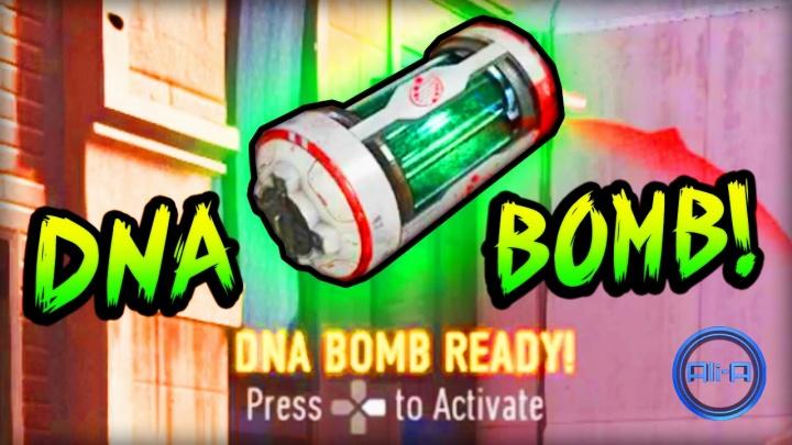 """CoD:AW:30キルで獲得の隠しストリーク""""DNA Bomb""""発動シーン"""
