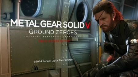 『METAL GEAR SOLID V GROUND ZEROES(メタルギアソリッドV グラウンド・ゼロズ)』