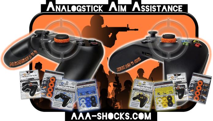 キルレアップ?FPS用コントローラーアタッチメント「AAA-Shocks」が海外で人気