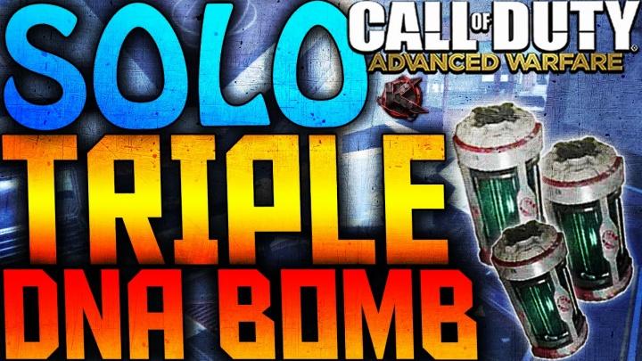 CoD:AW:ソロでトリプルDNA Bomb!(30連続キル×3)