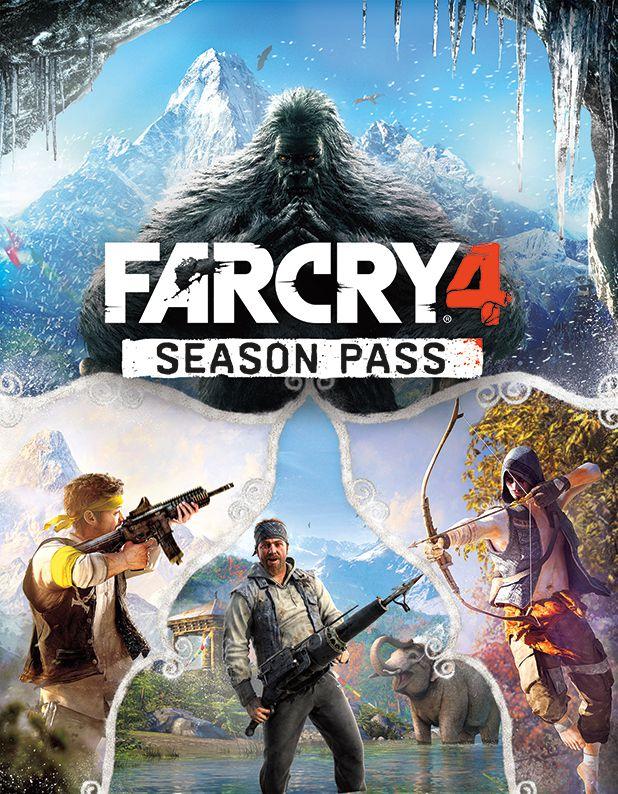 『Far Cry 4(ファークライ 4)』シーズンパスFC4_SEASON_PASS_KEYART_1413820991_compressed