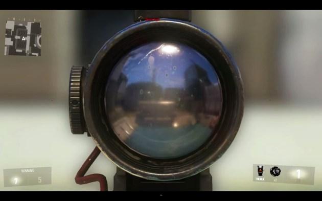 『Call of Duty: Advanced Warfare(コール オブ デューティ アドバンスド・ウォーフェア)』ブラックスコープ 2フレーム目