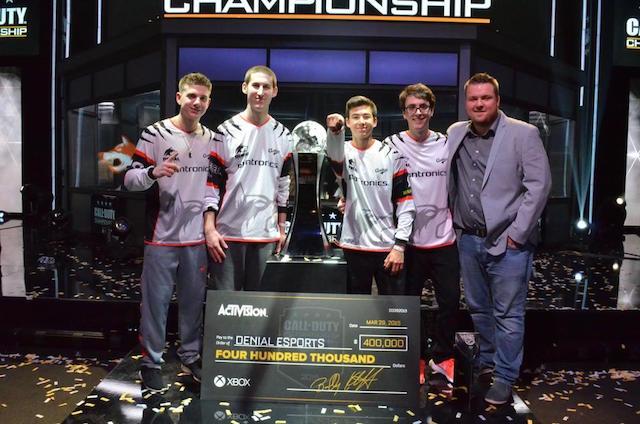 CoD:AW:「2015 CoDチャンピオンシップ」閉幕、優勝し4,800万円をゲットしたのは…(動画あり)