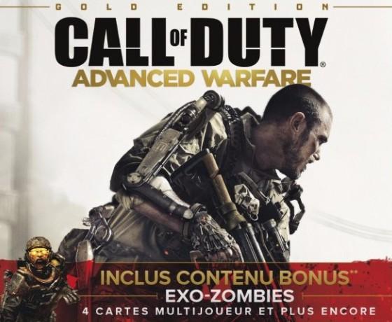 CoD:AW:「ゴールドエディション」の日本語版、オンラインストアにて本日発売