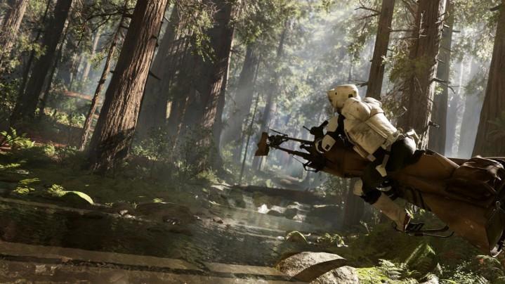 『スター・ウォーズ バトルフロント』の発売日は11月17日、PS4/XB1/PC向けか