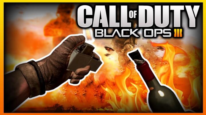 CoD:BO3:マルチプレイヤーに「火炎瓶」が復活