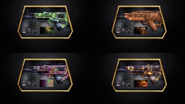 CoD:AW:アニメーションする武器迷彩!4種の新パーソナライゼーションパック発売開始 (Xbox)
