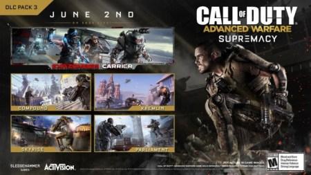 "『Call of Duty: Advanced Warfare(コール オブ デューティ アドバンスド・ウォーフェア)』 CoD:AW:第三弾DLC""Supremacy"""