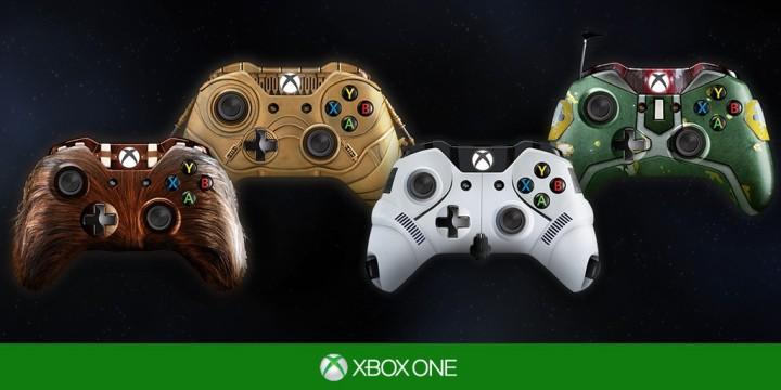 Xbox One:4種の「スター・ウォーズ」コンセプトコントローラー