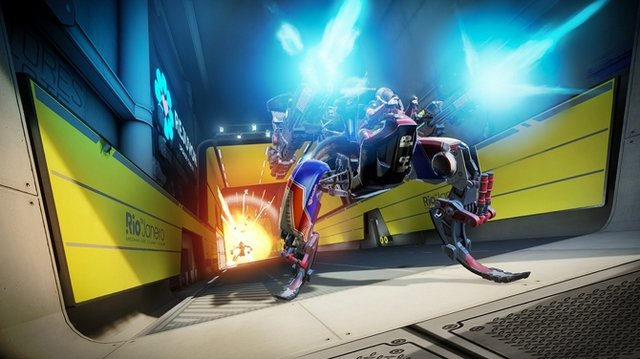 """PlayStation VR""向けローンチタイトル、ロボットFPS『RIGS: Machine Combat League』のアナウンストレイラー"