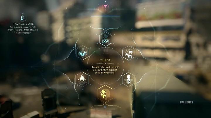 Surge : ターゲットを集団に向かわせ、電撃を放出させる。