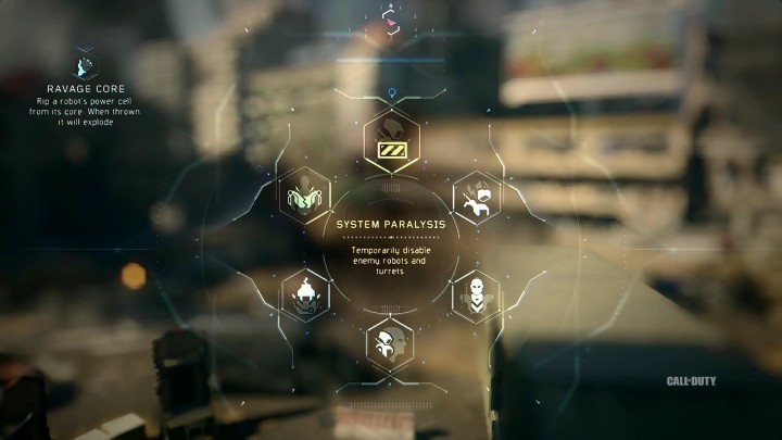 System Paralysis:一時的に敵のロボットやタレットを行動不能にする