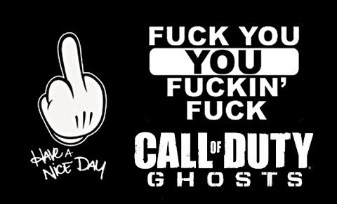 fuck Cod-Ghosts