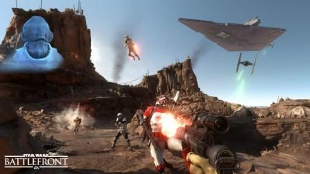 SWBF:PC版での20分に渡るウォーカーアサルトモードのライブプレイ動画が公開