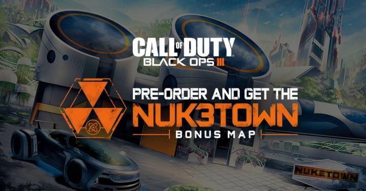 CoD:BO3:Nuketownリメイクマップ、予約特典「Nuk3town」が公式発表(PS4/X1/PC)