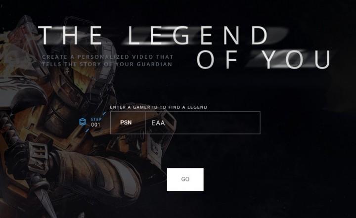 Destiny:これは楽しい。自身のガーディアンの活躍を動画にしてくれる公式サービス「Legend of You」
