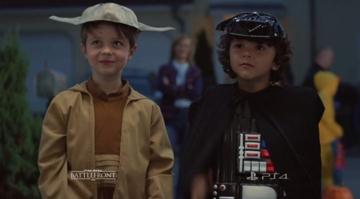 感動が止まらない: 『Star Wars バトルフロント』公式実写映像