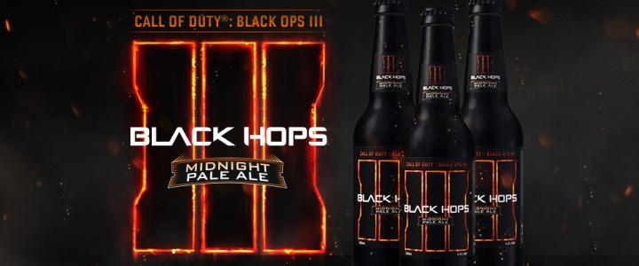 """世界初:『Black Ops 3』のビール、その名も""""Black Hops  3""""発売決定"""