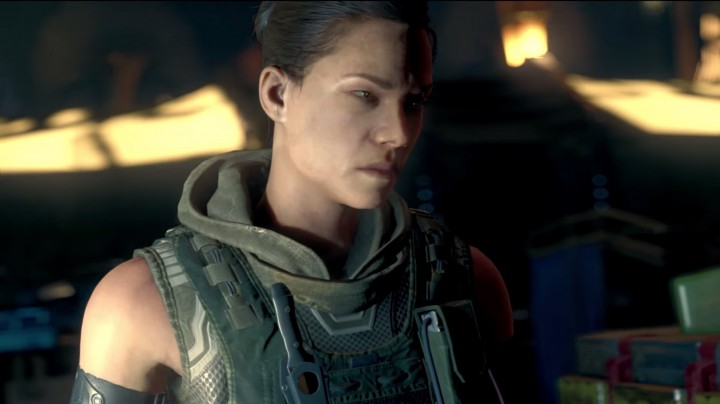 "CoD:BO3:シリーズ初、女性主人公でプレイ可能に。ヒントは""エイリアン""と現実"