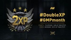 CoD:AW:ダブルXP本日開催、「グランドマスタープレステージ感謝日」の一環