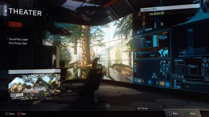 CoD:BO3:シアターモードのスクリーンショット初登場