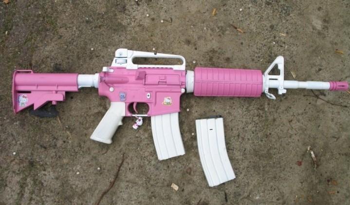 ハロー・キティ 銃