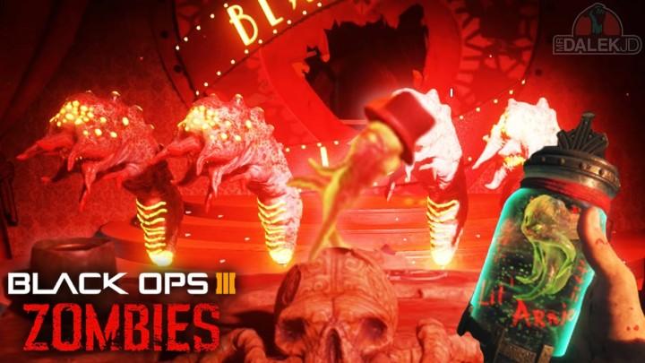 CoD:BO3:ゾンビモードの「キモかわいい」イースターエッグ発見