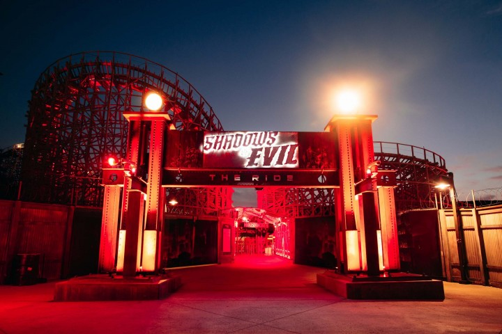 "CoD:BO3:""Shadows of Evil""ジェットコースターの360°体験映像公開"