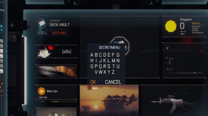 CoD:BO3:秘密の「シークレットメニュー」の出し方判明、制作キットが増殖するパスワードも