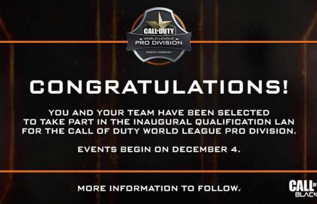 CoD:BO3:新大会「The Call of Duty World League」、プロリーグ選考への参加チーム発表
