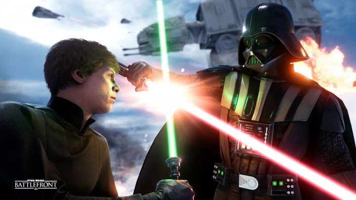 SWBF:日本語版『Star Wars バトルフロント』のプレイ映像登場、日本語吹替音声を確認
