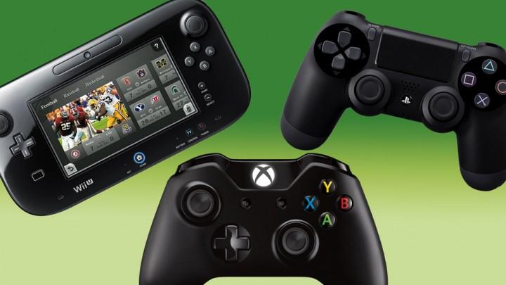 PS4, Xbox One, Wii Uの販売台数比較グラフ