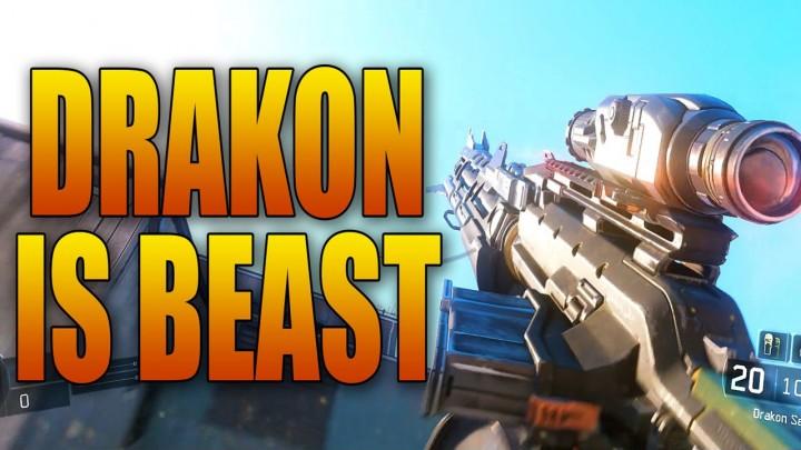 CoD:BO3:SR「Drakon」、脅威の対ストリーク性能が明らかに