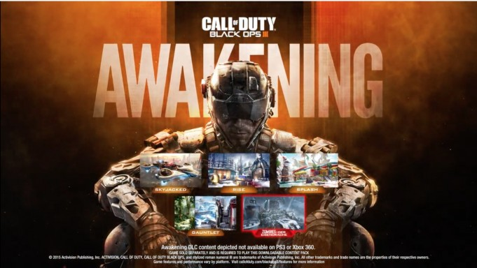 "CoD:BO3:PS3版へのDLCは""Awakening""で打ち止め、第2弾DLC""Eclipse""の配信予定なし"